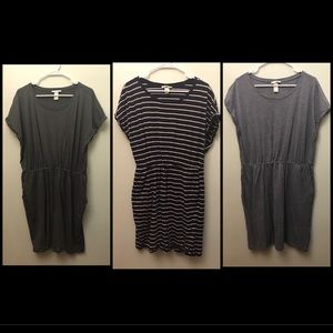 H&M DRESSES (3 PACKAGE DEAL!!)